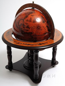 ITALIAN OLD WORLD STYLE GLOBE TABLE TOP