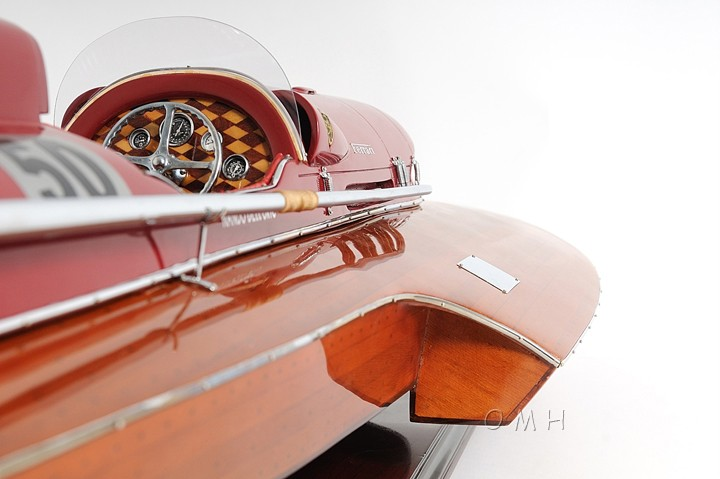 "B133 RC Ferrari Arno XI Hydroplane Wooden Model 34"" Built ..."