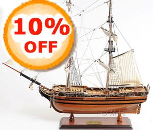 On Sale Model Tall Ships, Boats & Sailboats