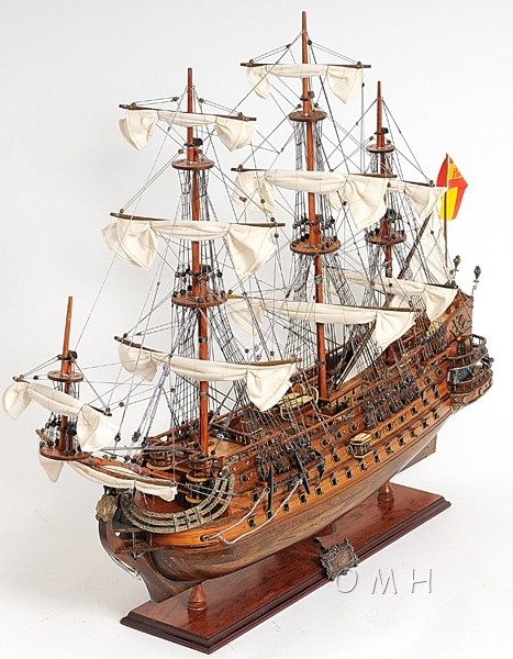 San Felipe Galleon Wooden Tall Ship Model