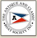 The Antique and Classic Boat Society Logo Link