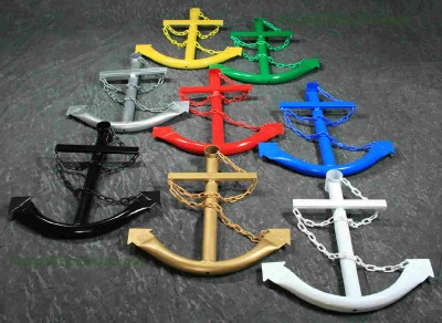 Metal Navy Ship Anchor Nautical Wall Art Decor