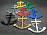 Ship Anchors Decorative Assorted Colors