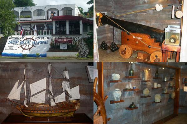 Le Superb Ship Wreck Model Deep Blue Museum
