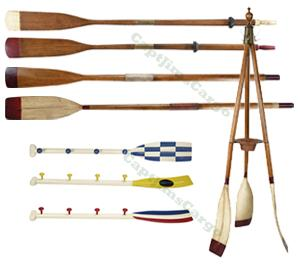 Authentic Models Decorative Wooden Boat Oars