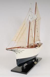 Wander Bird Pilot Schooner Ship Wood Model Sailboat