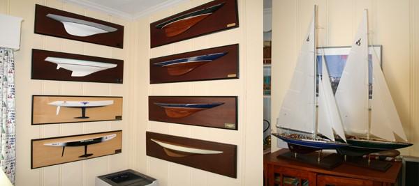Toms Sailboat Model Room