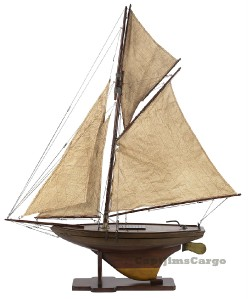 Authentic Models Victorian Pond Yacht Model Sailboat
