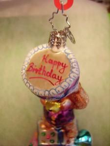 Garden fairy gift box birthday cake tattoo picture