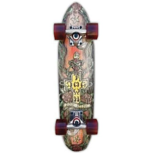 DOGTOWN-GRANS-GARAGE-4-LIFE-MINI-CRUISER-25-SKATEBOARD-COMPLETE-zboys-cali-USA