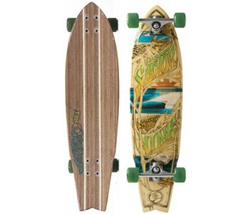 sector 9 34 west oz mini cruiser longboard skateboard complete ebay. Black Bedroom Furniture Sets. Home Design Ideas