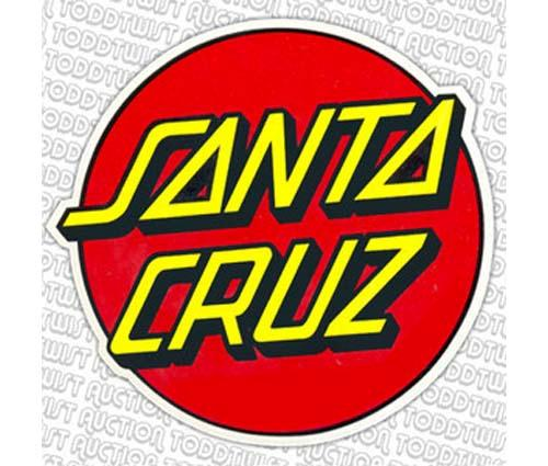 SANTA-CRUZ-CLASSIC-DOT-3-SKATEBOARD-DECAL-STICKER-COLOURS-VARY