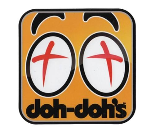 SHORTYS-DOH-DOHS-EYES-set-of-2-SKATEBOARDING-MEDIUM-4-DECAL-STICKER-STICKERS