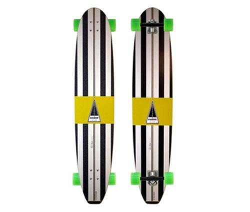 BARFOOT-HARBOUR-BANANA-47-LONGBOARD-SKATEBOARD-COMPLETE-surf-cruiser-around