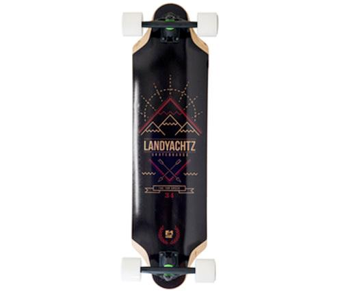 LANDYACHTZ-TOP-SPEED-34-5-LONGBOARD-SKATEBOARD-COMPLETE