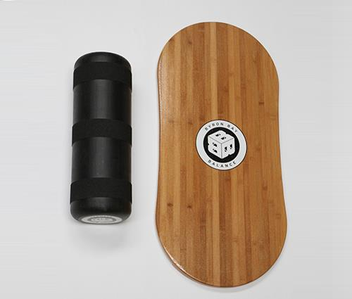 Balance Board With Roller: BYRON BAY BALANCE BOARD TRAINER + ROLLER PACK *ROCKER