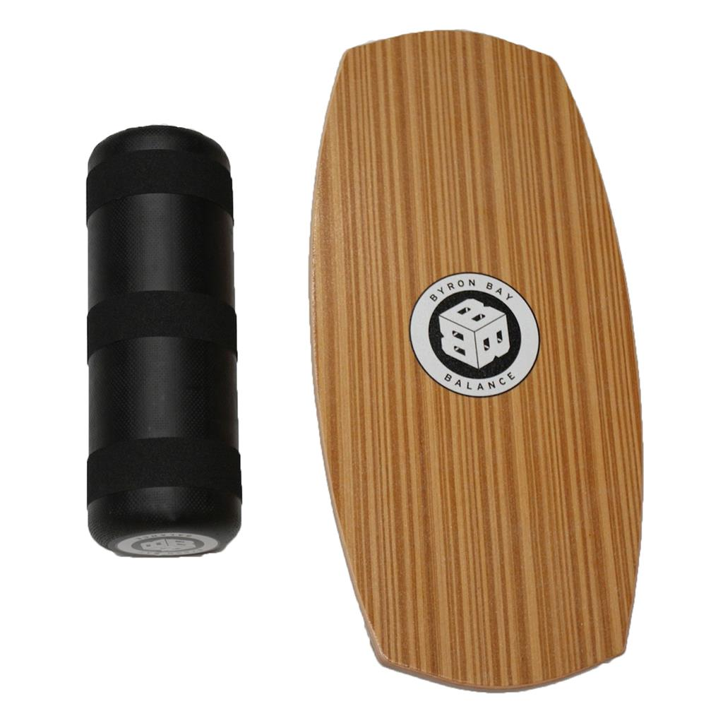 Balance Board With Roller: BYRON BAY BALANCE BOARD TRAINER + ROLLER PACK WAKEBOARD