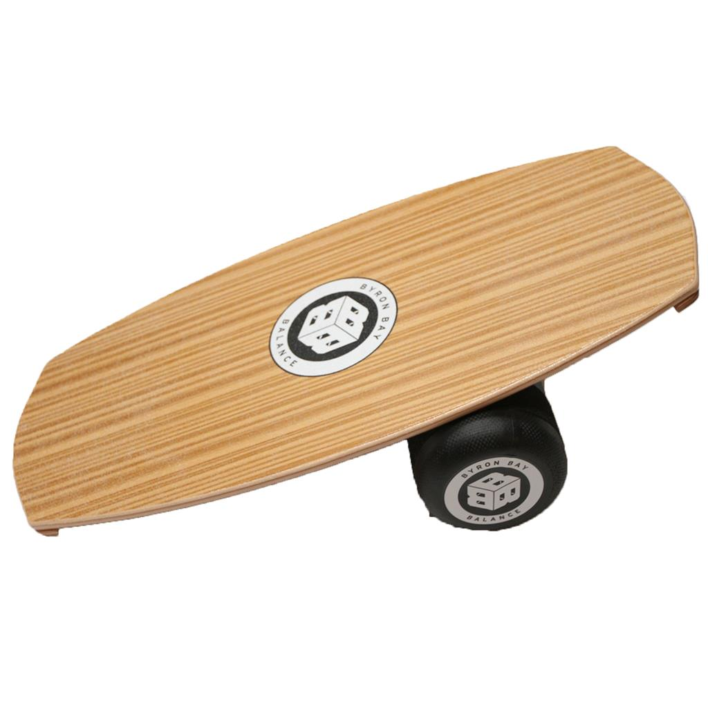 Balance Board With Roller: BYRON BAY BALANCE BOARD TRAINER + ROLLER PACKAGE WAKEBOARD
