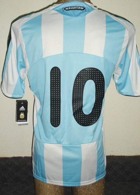 messi argentina jersey. NEW 2009 ARGENTINA HOME MESSI