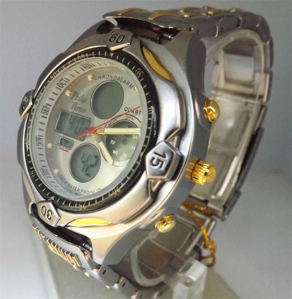Часы Филип Персио наручные мужские, 1 шт, 500 р