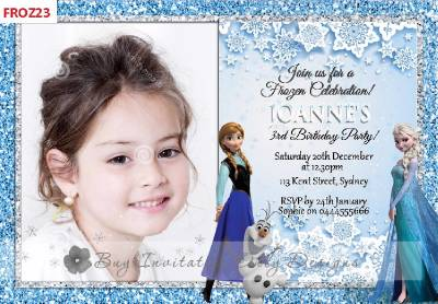 Frozen Invitations For Birthday Party Choice Image Invitation