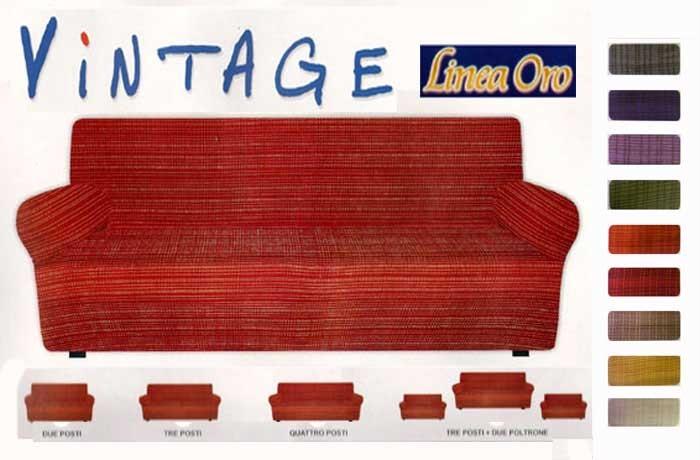 COPRIDIVANO A COSTINE DIVANO 3 POSTI VINTAGE- 9 COLORI  eBay