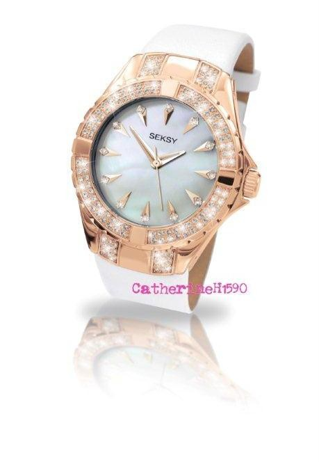 Sekonda Ladies Seksy Rose Gold Plated Fashion Watch