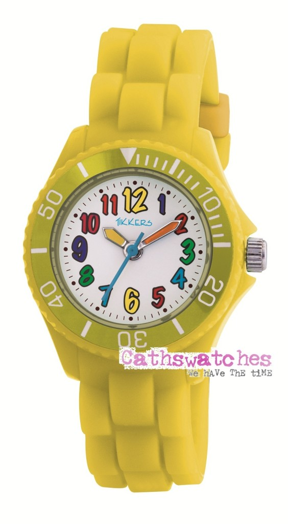 Tikkers-Children-039-s-Bright-Coloured-Kids-Silicon-Watches-Boys-amp-Girls-Multicolour
