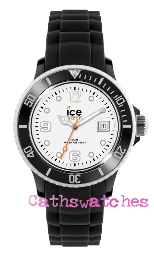Genuine-Ice-Watch-Silicon-Strap-Ice-White-Black-White-Small-Unisex-or-Big-Size