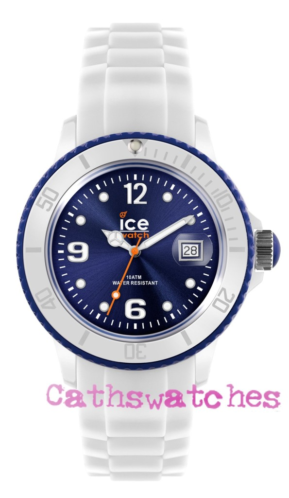 Ice-Watch-New-Model-Ice-White-White-Navy-Blue-Silicon-Strap-Small-Unisex-or-Big