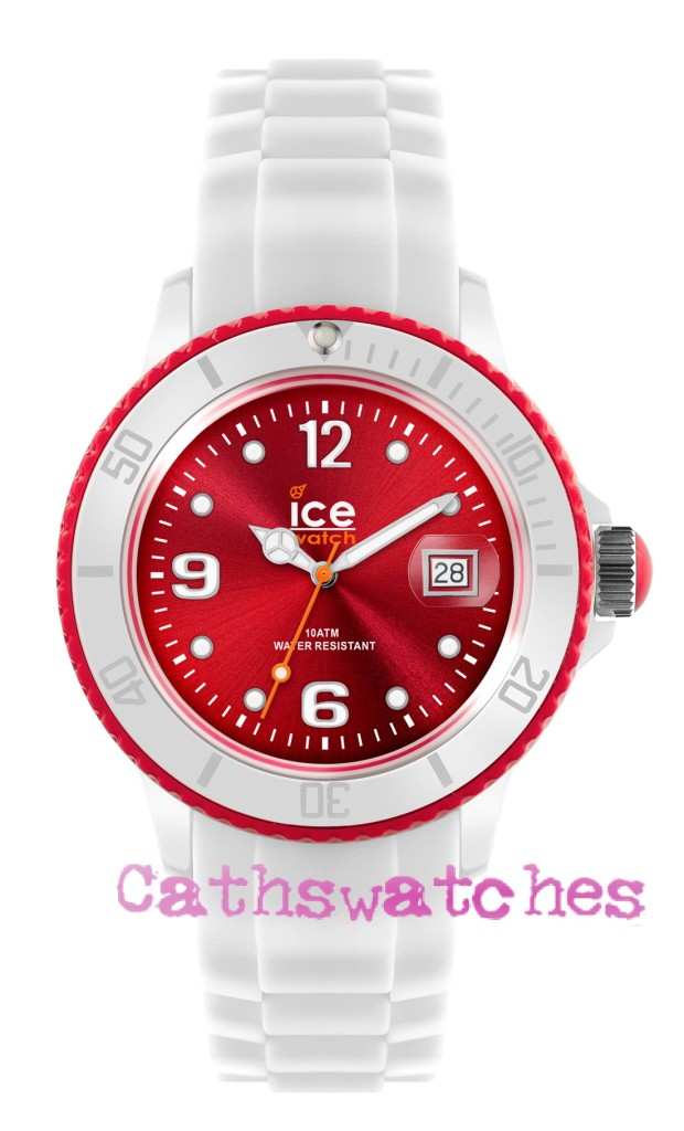 Genuine-Ice-Watch-Silicon-Strap-New-Model-Ice-White-White-Red-Small-Unisex-Big