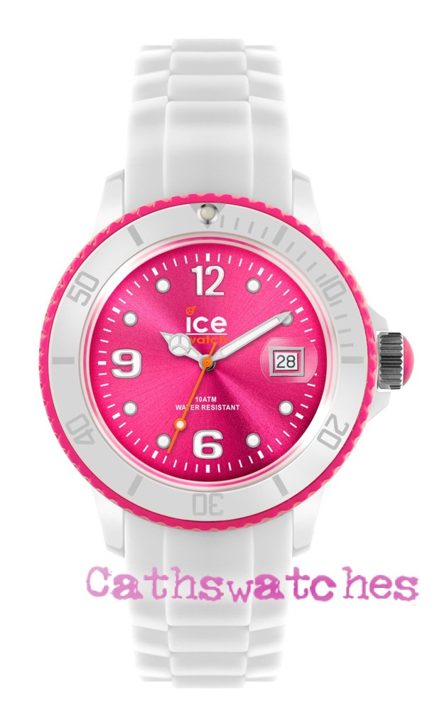Ice-Watch-New-Model-Ice-White-White-Pink-Silicon-Strap-Small-Unisex-or-Big