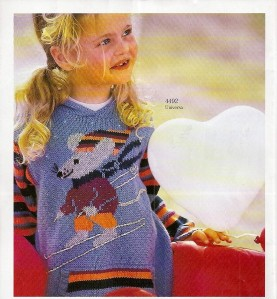 Childrens Aran Patterns - Knitwits and Allsorts is a Stockist of
