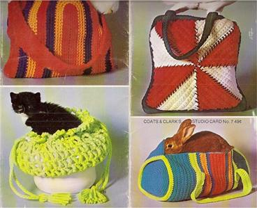 BAG CROCHETED MESH PATTERN TOTE - Crochet — Learn How to Crochet
