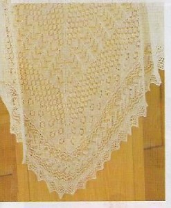 HEIRLOOM LACE BABY BLANKET PATTERNS Sewing Patterns for Baby
