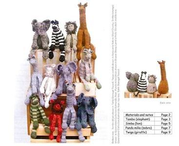 giraffe knitting pattern - Knitting Paradise - Forum
