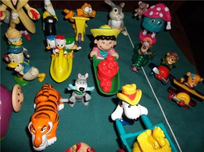 Nice Lot of 1980s McDonald Happy Meal Premium Toys, etc.