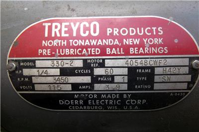 treyco blade sharpening machine