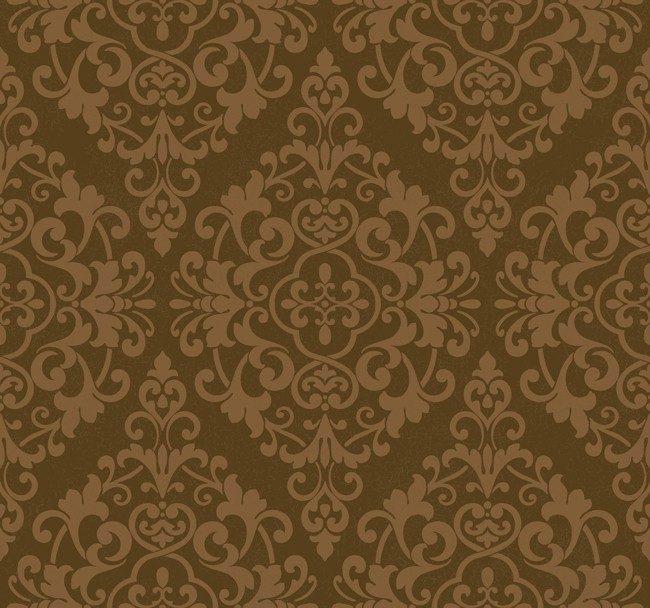 brown on brown damask wallpaper - photo #9
