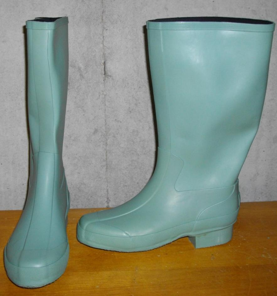 Rubber garden boots steel toe womens martha by mail 5 ebay for Garden boots for women