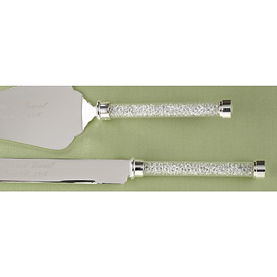 details about serving set knife wedding cake beads engraved silver