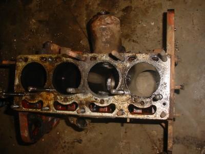 massey harris ferguson tractor  engine motor block ebay