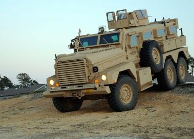 army marine mrap cougar 6x6 ied truck wood wooden mahogany hand