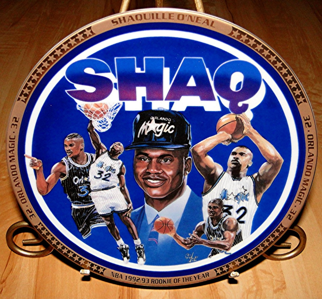 SHAQUILLE O'NEAL Shaq Orlando Magic NBA Basketball Sports