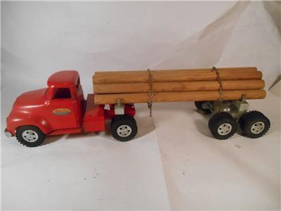 Tonka vintage red original 1955 mm mound metalcraft for Metal craft trailers parts