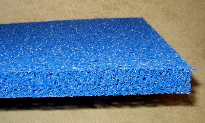 Matala sheet blue pond filter mat media pad 24 x24 for Pond filter mat