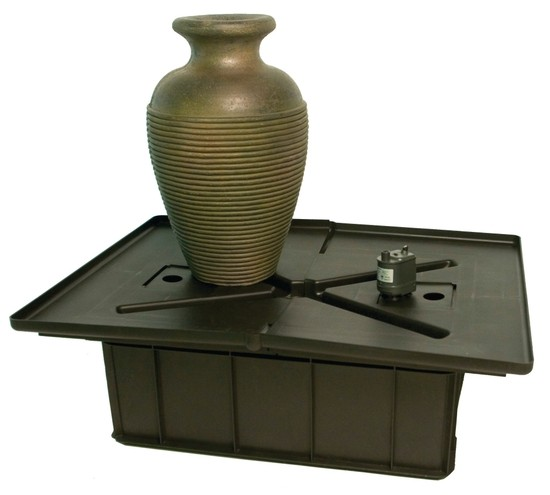 Amphora Vase Fountain Kit Water Feature Bubbler Garden Ebay