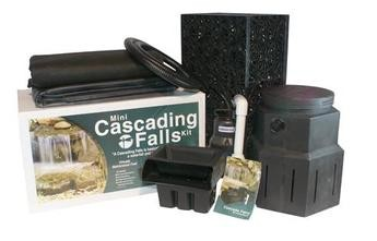 Pondbuilder pb1373 mini cascade pondless diy waterfall kit w 10 spillway ebay Small waterfall kit