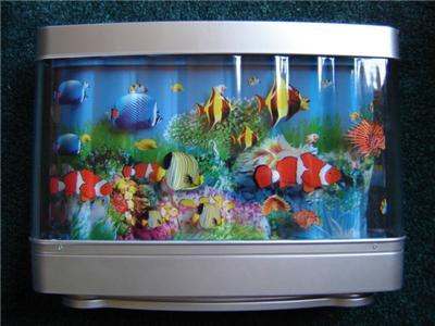 New tropical fish aquarium motion lamp night light ebay for Fish tank night light