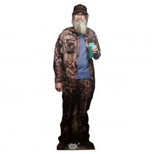 "Duck Dynasty Commander SI Robertson Stand Up 70"" Tall Lifesize Hunting"